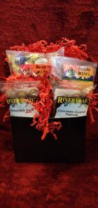 Small Milk Chocolate Gift Basket Items In Box